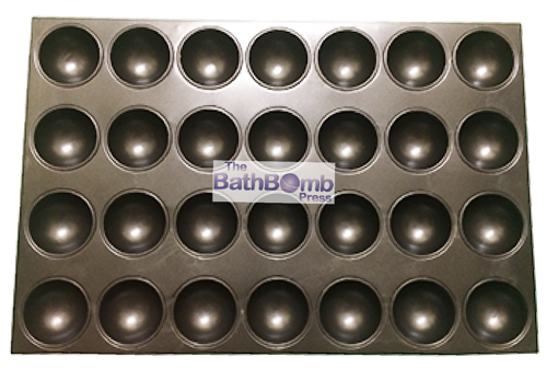 """Picture of Bath Bomb Curing Tray - Large Round (2.75"""")"""