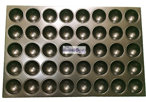 """Picture of DENTED - Bath Bomb Curing Tray - Medium Round (2 3/8"""") - LIMITED QUANTITIES"""