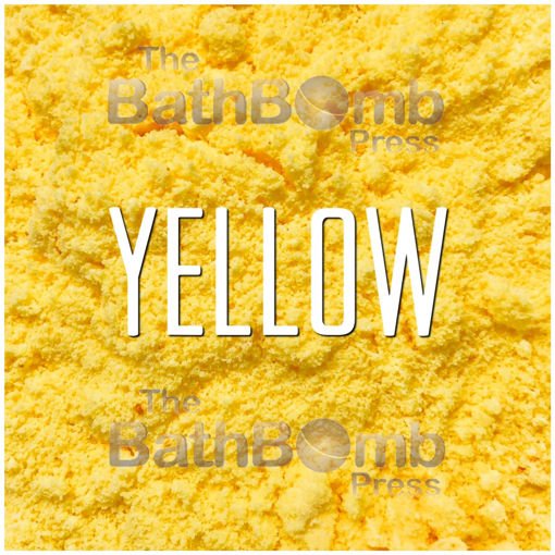 Picture of Yellow #5 Bath Bomb Powder Colorant - Water Soluble