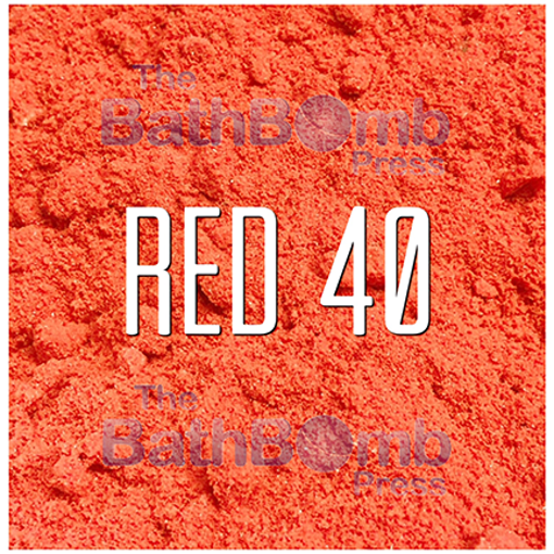 Picture of Red #40 Bath Bomb Colorant - Water Soluble