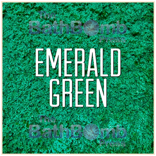 Picture of Emerald Green Bath Bomb Colorant - Water Soluble